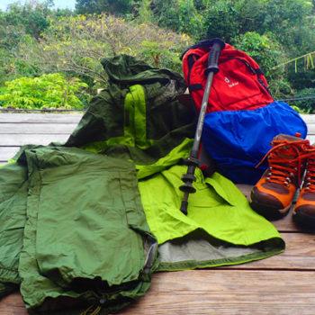 屋久島日帰り登山・トレッキングで必要な装備