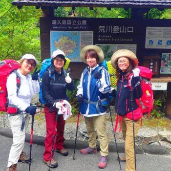 早朝の神聖な森を満喫!縄文杉キャンプツアー